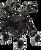 Rollator, Soft Seat, Blue EA 1