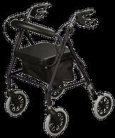 Rollator, Soft Seat, Black EA 1