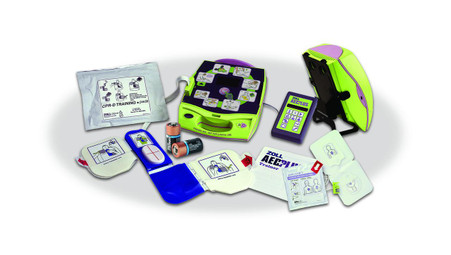 ZOLL AED PLUS DEFIB COMPLET-SP EA 1