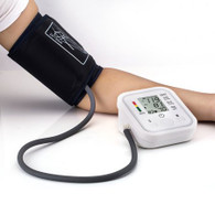 Arm Cuff Automatic Blood Pressure Pulse Monitor Medical Sphygmomanometer (ABP1) (view)