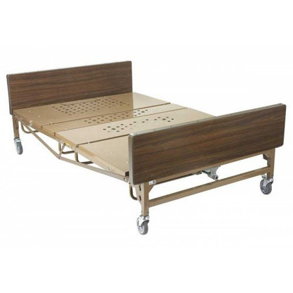 Drive Medical Full Electric Bariatric Hospital Bed, Frame Only (15300)