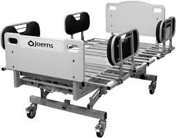 CamTec RecoverCare Bariatric Hospital Bed with an Expandable Deck, Padded Side Rails