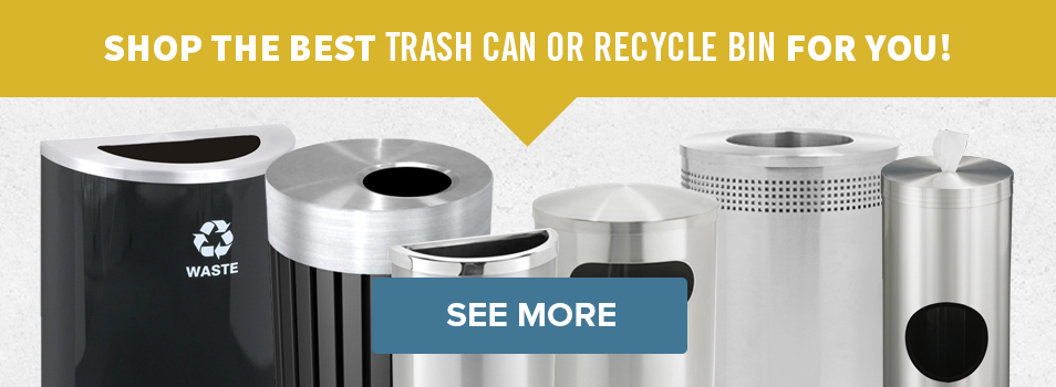 Buy Trash Cans and Recycle Bins
