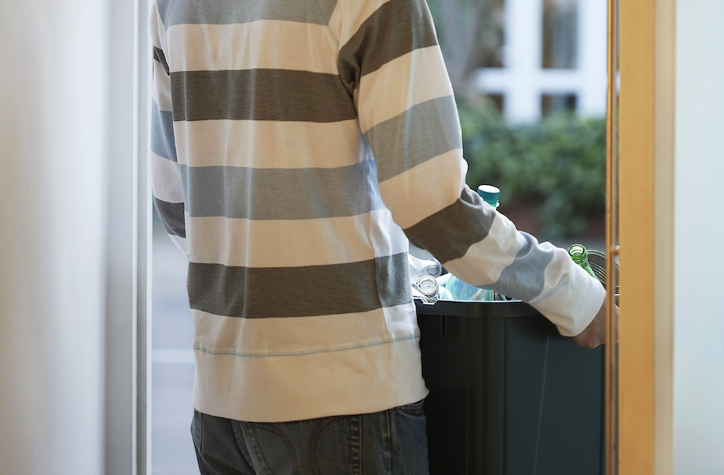 Tip 2 Carry trash outside to prevent leaks