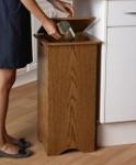 Captivating Wooden Waste Baskets · Kitchen Trash Cans ...
