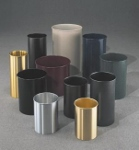 Indoor Trash Cans & Recycling Bins made of Metal, Plastic, and Steel