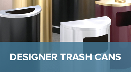 Decorative Commercial Trash Receptacles