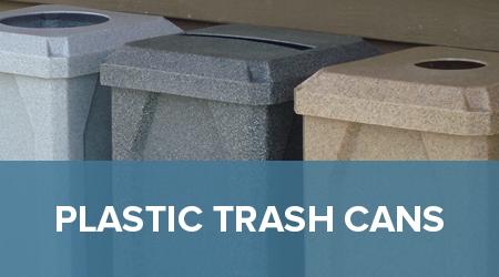 decorative commercial trash receptacles