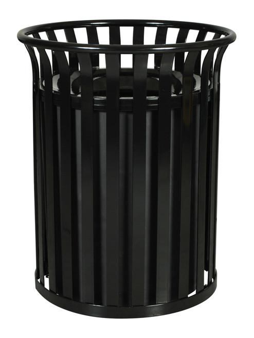 36 Gallon Sc 2633 Metal Outdoor Streetscape Trash Can
