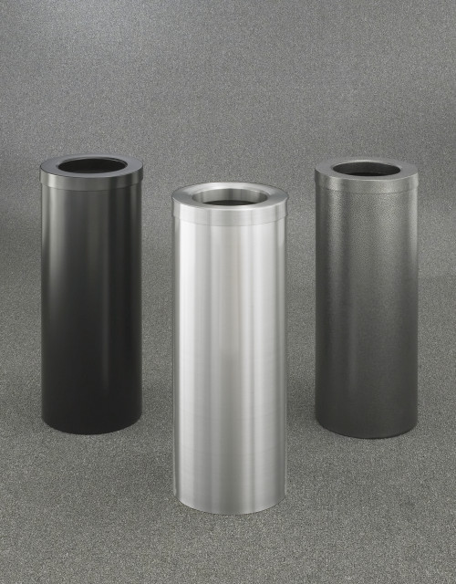 Bathroom trash cans 4 sizes 30 colors for Commercial bathroom trash cans