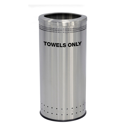 25 Gallon Precision Series Stainless Steel Guest Towel Can