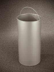 15 Gallon Round Galvanized Liner for Glaro Recycle Bins & Trash Cans