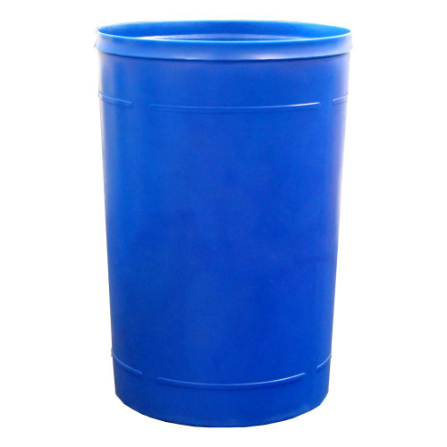 55 Gallon Kolor Can Round Plastic Outdoor Indoor Trash Can