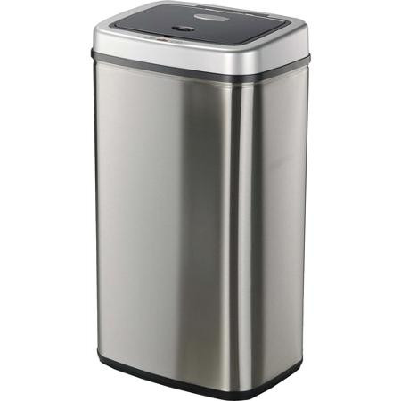 13 Gallon Skinny Touchless Automatic Steel Kitchen Trash