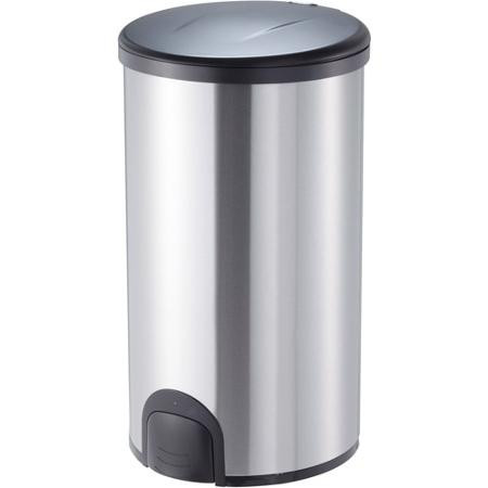 12 Gallon Steel Toe Tap Dog Proof Kitchen Trash Can TTT 45 8