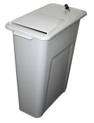 23 Gallon Locking Personal Desk Side Document Container SHREDINATOR
