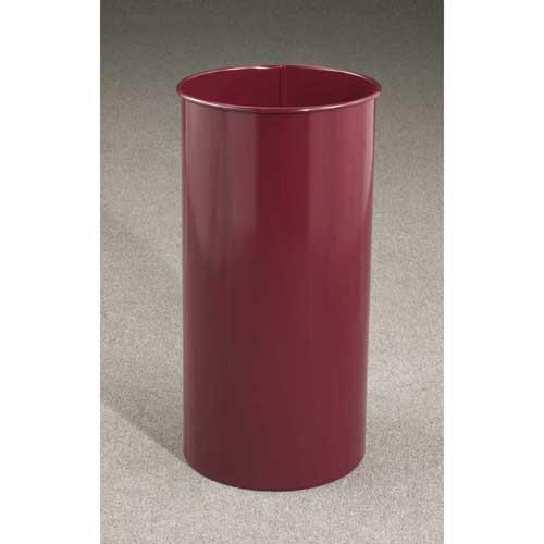 22 Gallon 15 X 29 Open Top Office Wastebasket 1529 (29 Designer Colors)