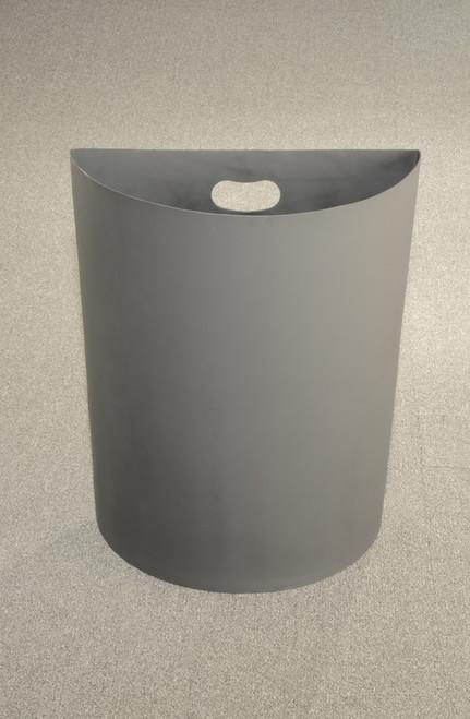 24 Gallon Half Round Plastic Rigid Liner Plc24 For Half