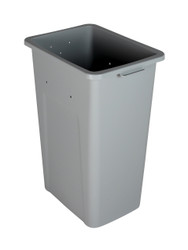 32 Gallon Extra Large Home & Office Trash Can Gray
