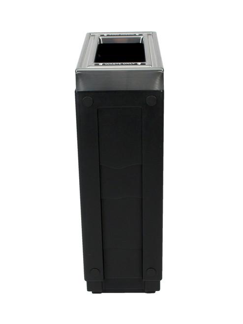 23 Gallon Evolve Cube Slim Skinny Trash Can 8109024 4