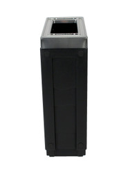 23 Gallon Evolve Cube Slim Skinny Trash Can 8109024-4
