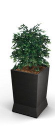 22 x 22 x 37 ModTec Planter Large 724466 Gunmetal Satin