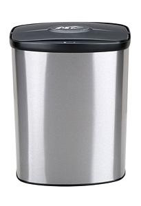 2 Gallon Touchless Bathroom Trash Can Stainless Steel Dzt 8 1