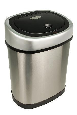3 Gallon Touchless Automatic Bathroom Trash Can Stainless Steel DZT 12 9