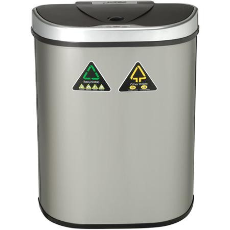 18 Gallon Touchless Automatic Kitchen Recycling Trash Can DZT 70 11R