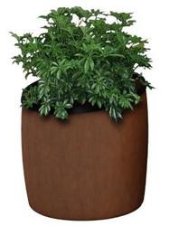 10 Gallon Garden Series Plastic Faux Wood Planter 756341 (2 Colors)