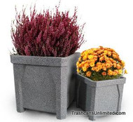 Kolor Can Planters S7970 to Match Kolor Can Trash Receptacles (11 Colors)