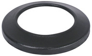 24.75 Inch Black Flat Top Plastic Lid for Stadium Series Trash Cans SC55FT
