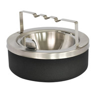 Large Capacity Flip Top Tabletop Ashtray with Bridge Self Closing 63BGBLX