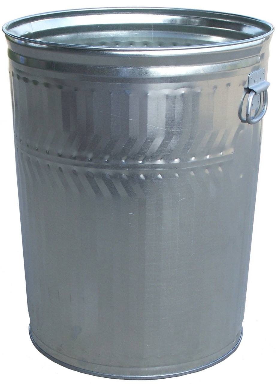 32 Gallon Heavy Duty Trash Can With Optional Lid Whd32c 2 Pack