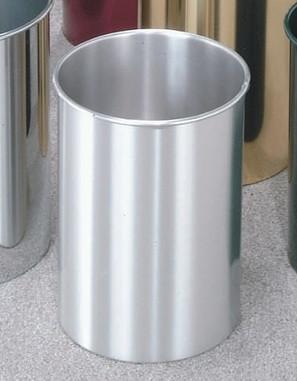 5 Gallon 10 X 15 Open Top Home Office Wastebasket Satin