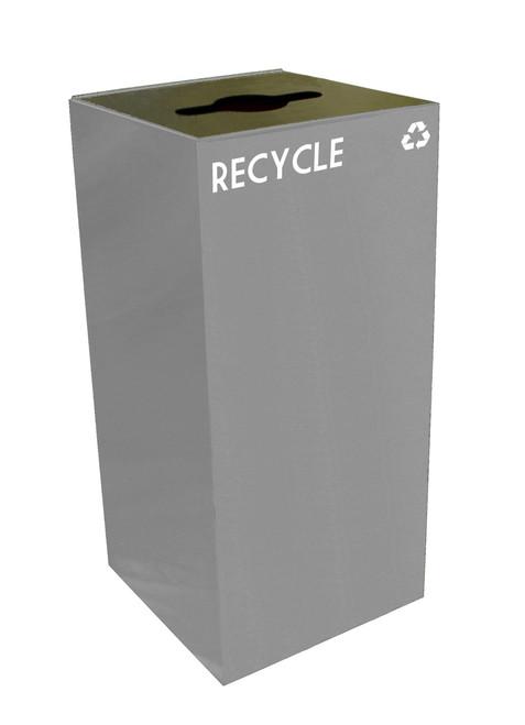 32 gallon metal geocube 32gc0 recycling bin receptacle 4 color choices. Black Bedroom Furniture Sets. Home Design Ideas