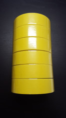"3M Yellow Masking Tape 1 1/2"" Sleeve of 6"