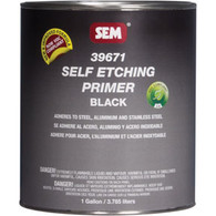 Self Etching Primer- Black 1-Gallon Can