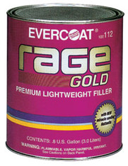 Rage Gold Premium Lightweight Body Filler Gallon