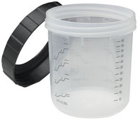 PPS Mixing Cups and Collars Regular box of 2