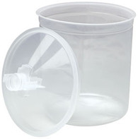 PPS Lids with 200 Micron Filters 16200