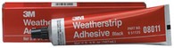 Weatherstrip Adhesive 08011 Black 5 oz Tube