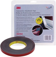 Automotive Attachment Tape Gray 1/2 In x 10 Yds 90 mil