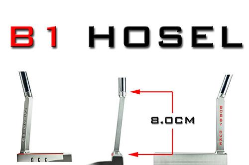 Order online interchangeable golf putter Hosels from Bobby Duke