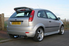FORD FIESTA BODY KIT MK6 BY SWR - spoiler, rear view