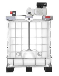 Highly Efficient IBC Tank Agitator / Mixer for Highly Viscous or Thick Liquid / Mixture, IBC Tank not included.