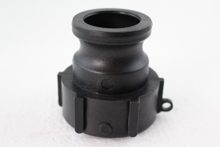 "PolyPropylene (PP) 1 ½"" part `A`, 1 ½"" Camlock adaptor X 2"" NPS female Easy-Seal"