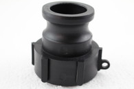 """PolyPropylene (PP)  S60X6 female buttress C/W to 1 ½"""" Camlock adapte,1 ½"""" part A"""