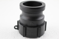 """PolyPropylene (PP)  S60X6 female buttress C/W  to 2"""" Camlock adapter, 2"""" part A"""