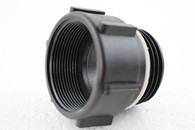 """PolyPropylene (PP)  2"""" BSP female G/P/P W/C o-ring to S56X4 male drum thread"""